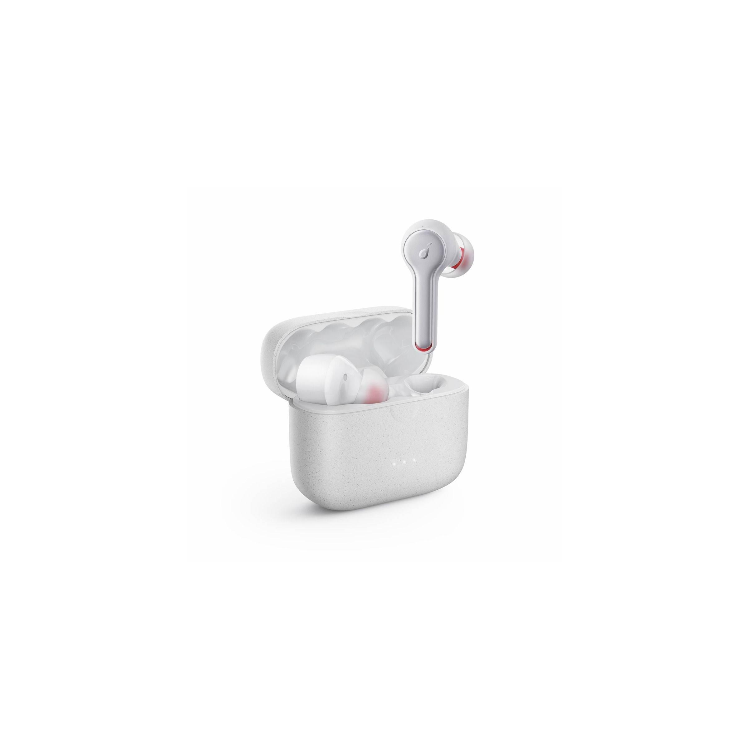 anker Anker soundcore liberty air 2 hvid/sort true wireless headset til iphone osv farve hvid fra mackabler.dk