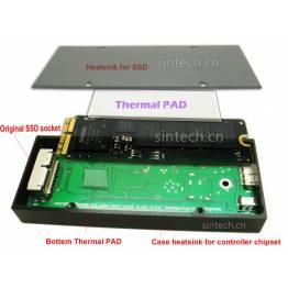 Macbook SSD holder med USB 3.0 kasse