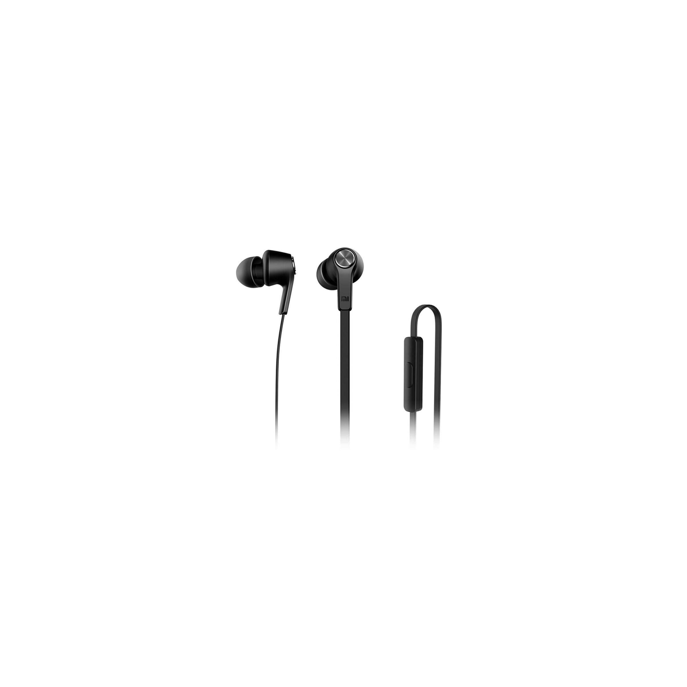 Originalt xiaomi piston in-ear earphones sort fra xiaomi på mackabler.dk