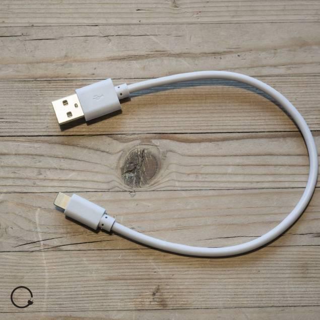 Lightning kabel 0,25m
