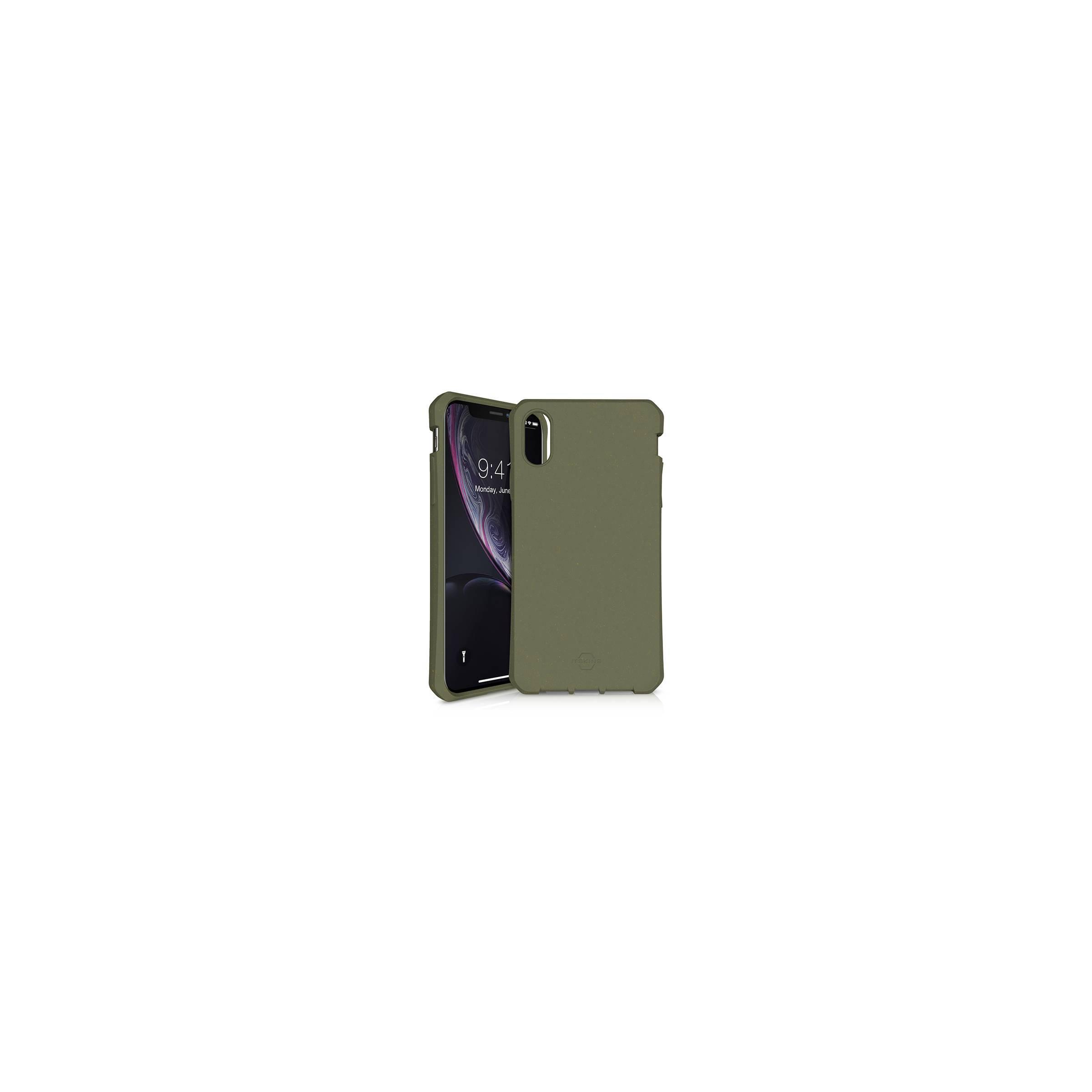 Feroniabio bionedbrydeligt iphone xr cover grøn fra itskins fra itskins fra mackabler.dk