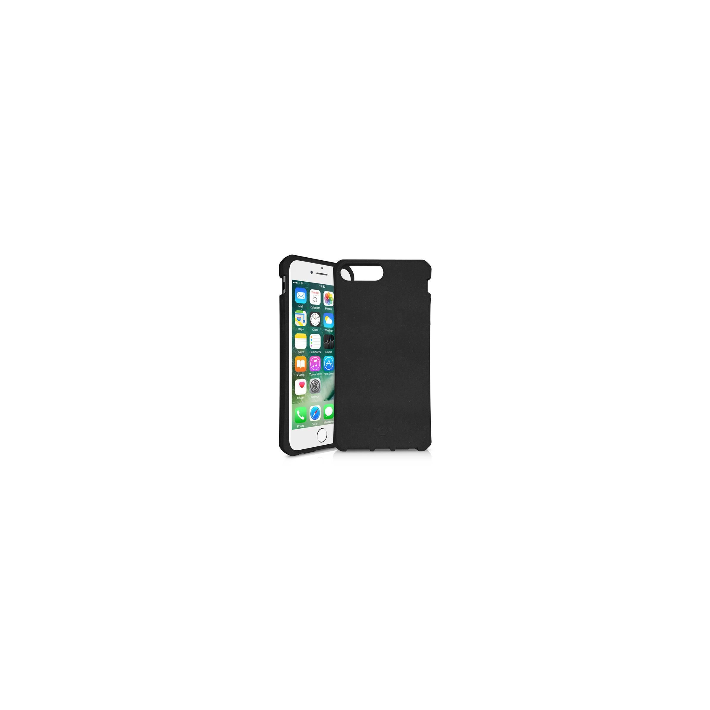 itskins – Feroniabio bionedbrydeligt iphone 6/6s/7/8 plus cover sort fra itskins fra mackabler.dk