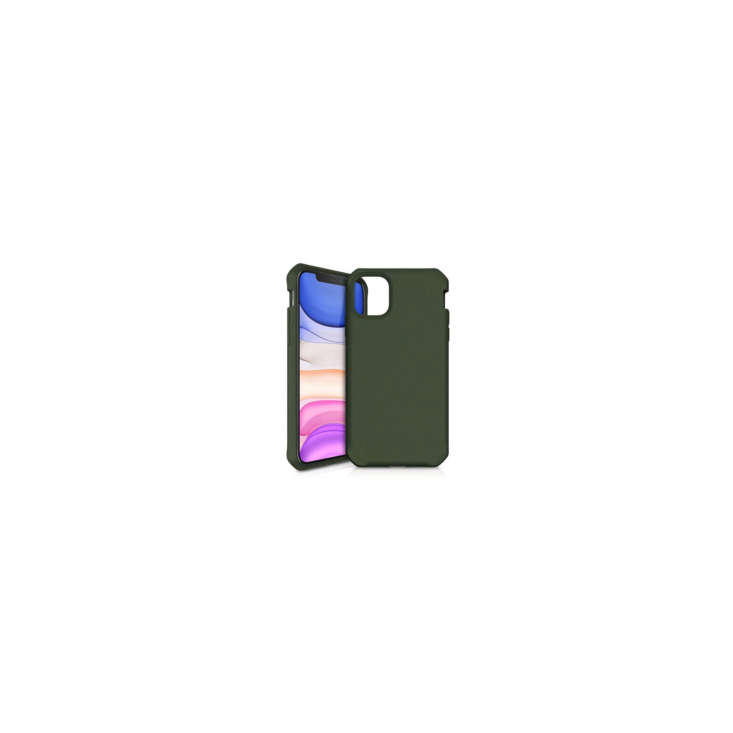 Feroniabio bionedbrydeligt iphone 11 cover grøn fra itskins fra itskins på mackabler.dk