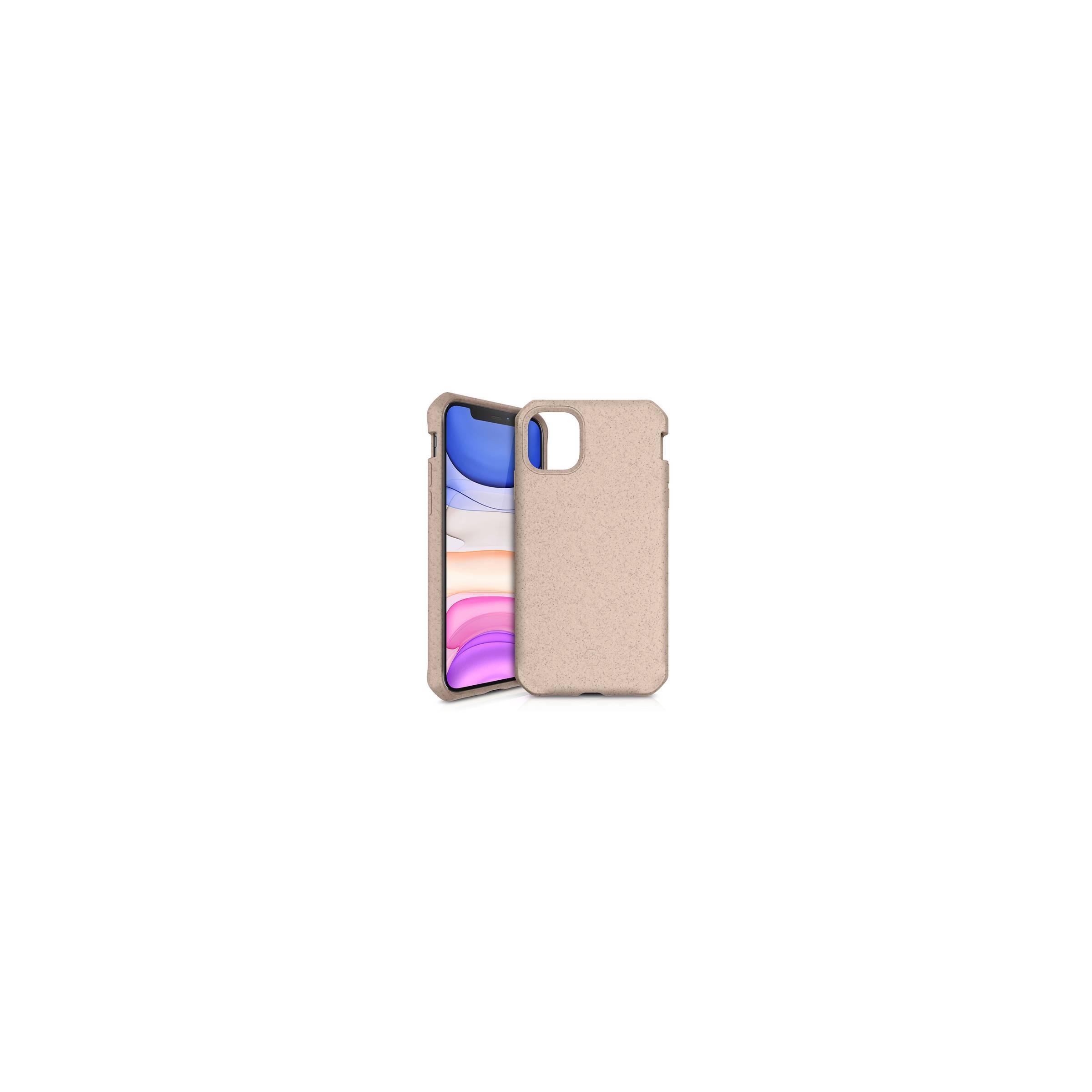 itskins Feroniabio bionedbrydeligt iphone 11 cover natur fra itskins på mackabler.dk