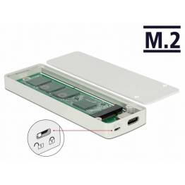 NVMe m.2 SSD harddisk holder USB