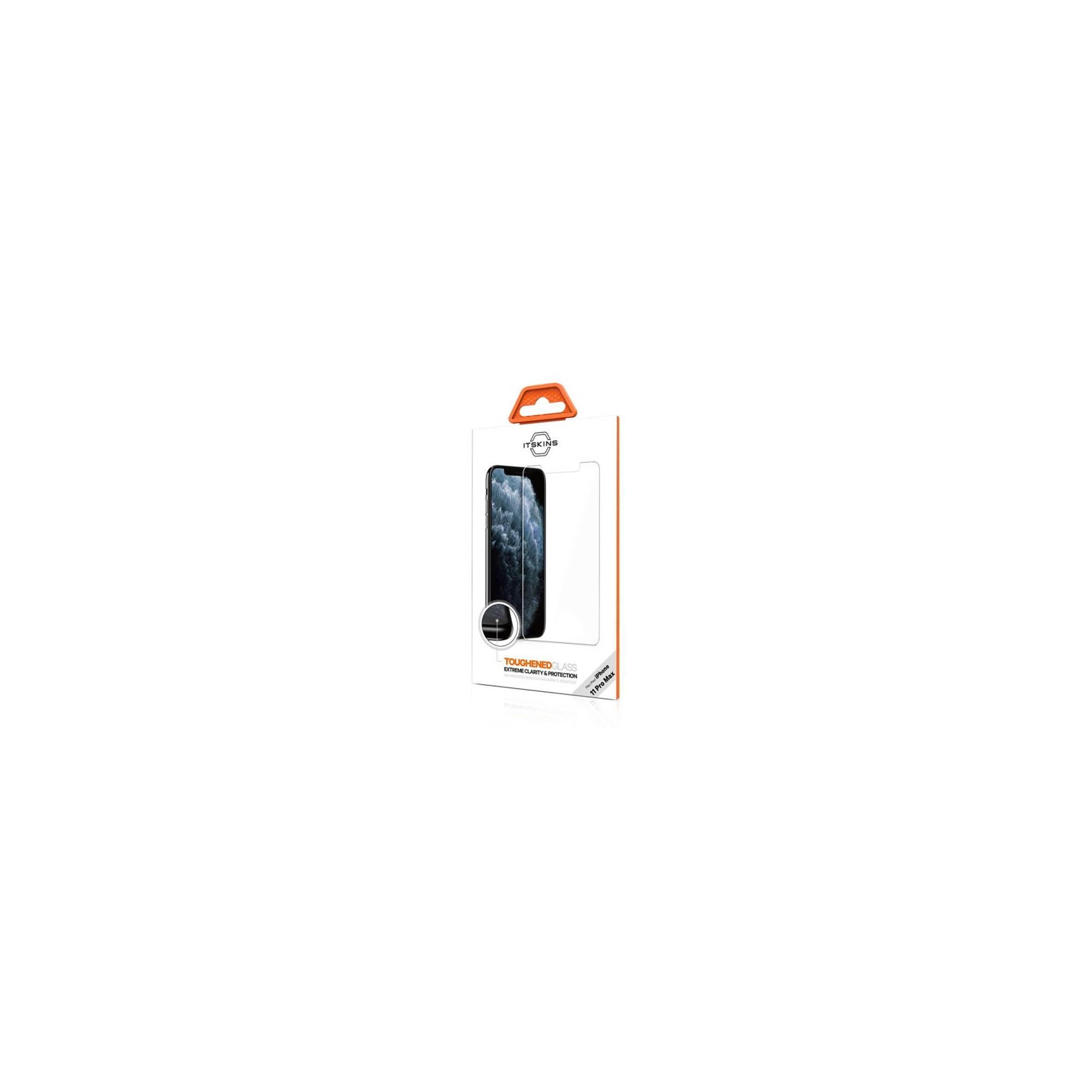 itskins Itskins beskyttelsesglas til iphone 11 pro max på mackabler.dk