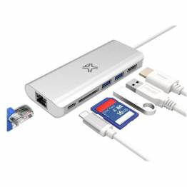 Satechi USB-C Multi-Port Adapter 4K Gigabit Ethernet V2