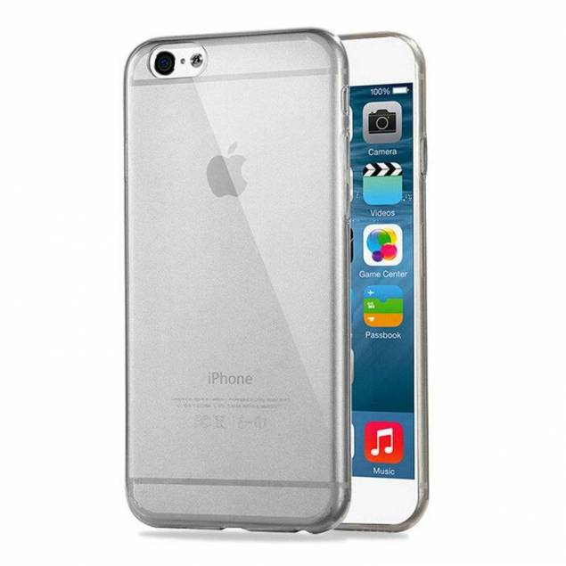iPhone 6 silikone gennemsigtigt