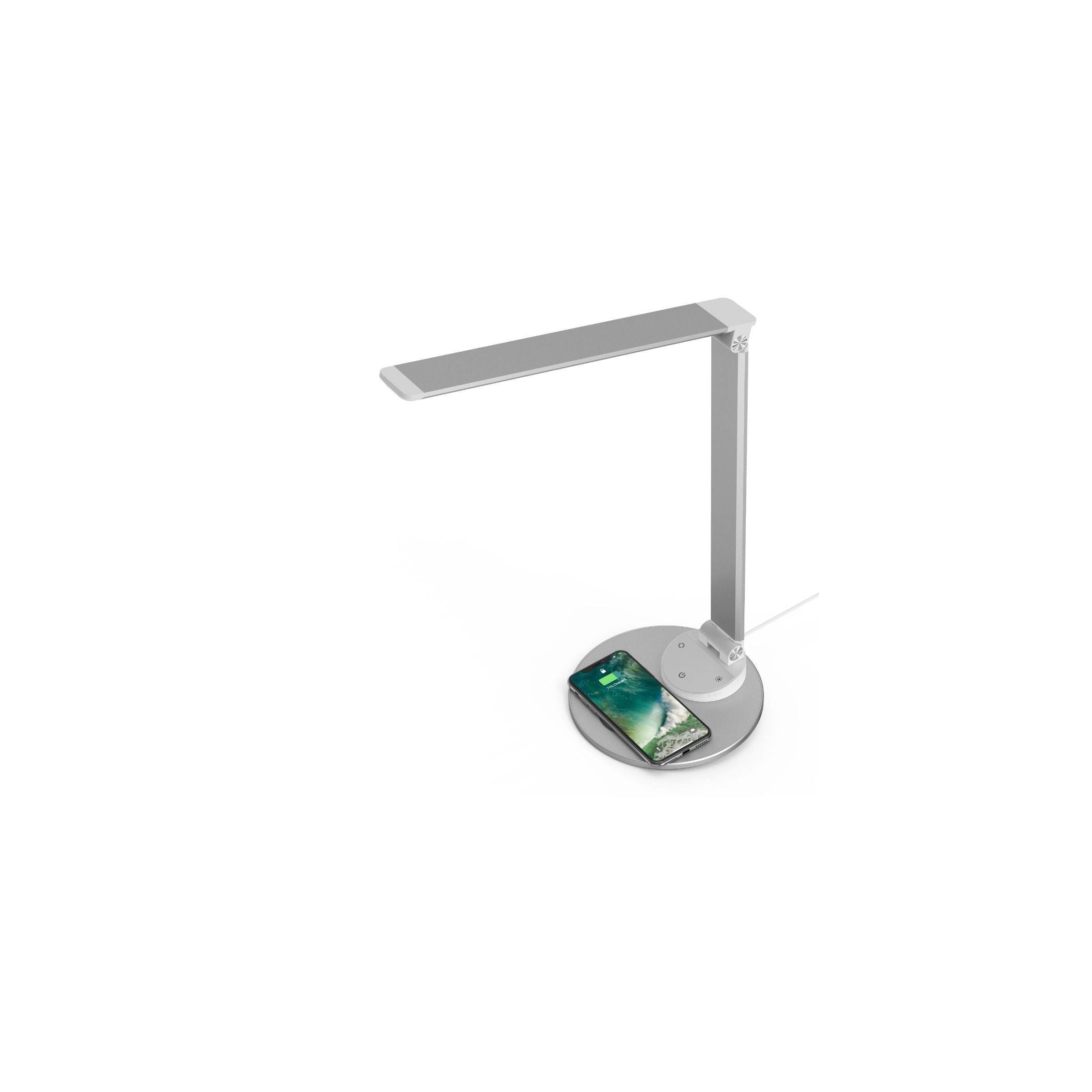 taotronics – Taotronics skrivebordslampe metal finish med trådløs oplader fra mackabler.dk