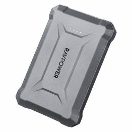 RAVPower Rugged 10.050 mAh Powerbank m. 18W USB-C PD