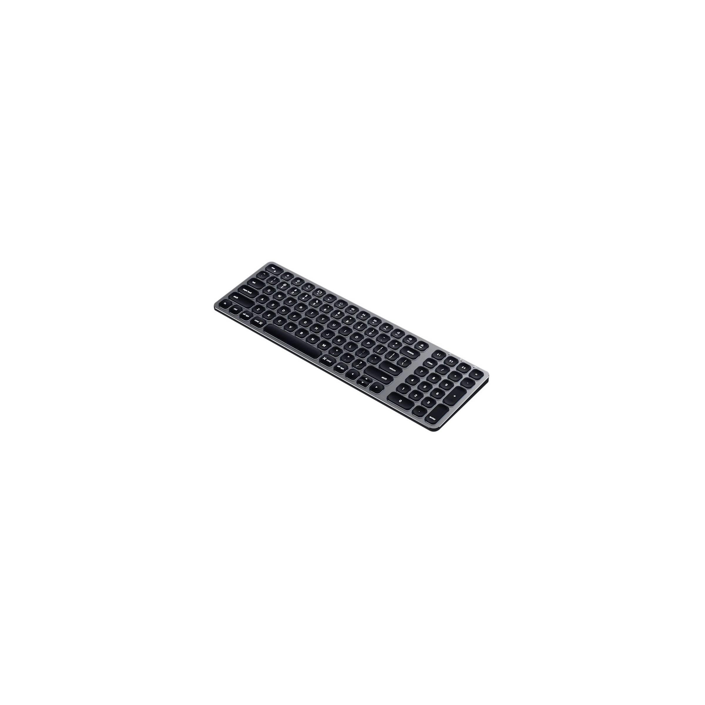 satechi – Satechi trådløs bt tastatur nordic layout (m. baggrundsbelysning) på mackabler.dk