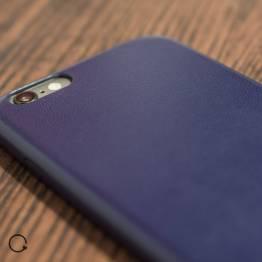 læder iPhone 6 cover sort