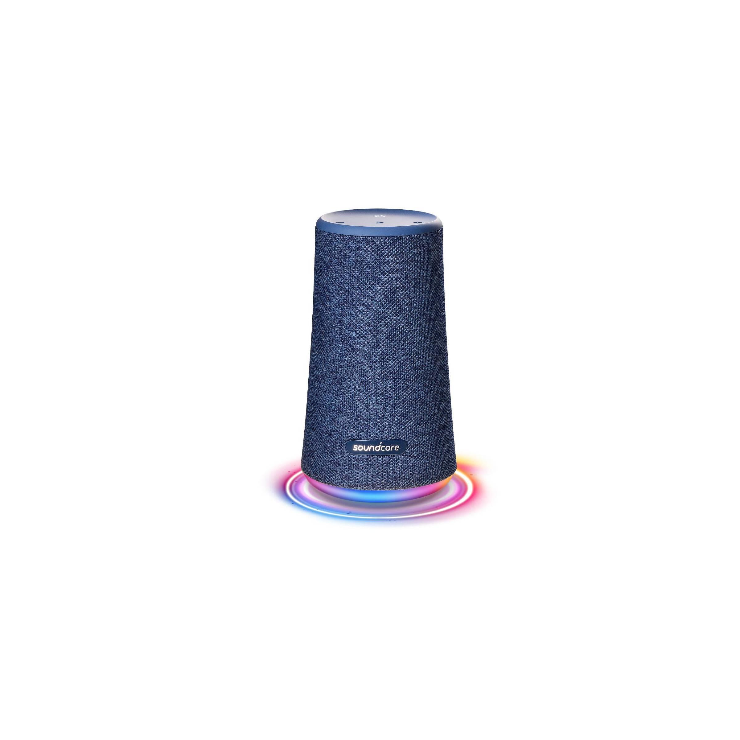 anker Anker soundcore flare+ højtaler blå bt og vandtæt fra mackabler.dk