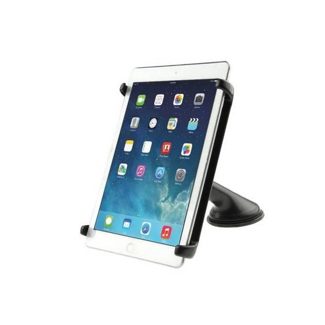 iPad bil holder - iPad bilholderen her skal bruges til at holde en iPad fast i bilen, på lange ture eller bare når børnene skal underholdes. Denne iPad bilholder fungerer på samme måde som de velkendte bilholdere til iPhones. Denne iPad holder fungerer med iPad 1, iPad 2,