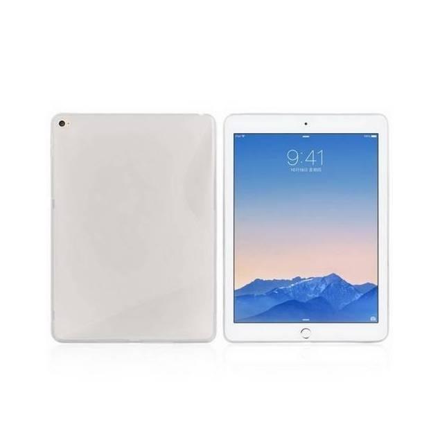 iPad air 2 silikone cover - Dette er det letteste og mindste cover du kan få til din iPad air 2, det kan let klippes på, ligesom lignendecovers til iPhone, også beskytter det bagsiden og hjørnerne på din iPad, det er disse områder som er mest udsat, hvis du kommer til at tabe din i