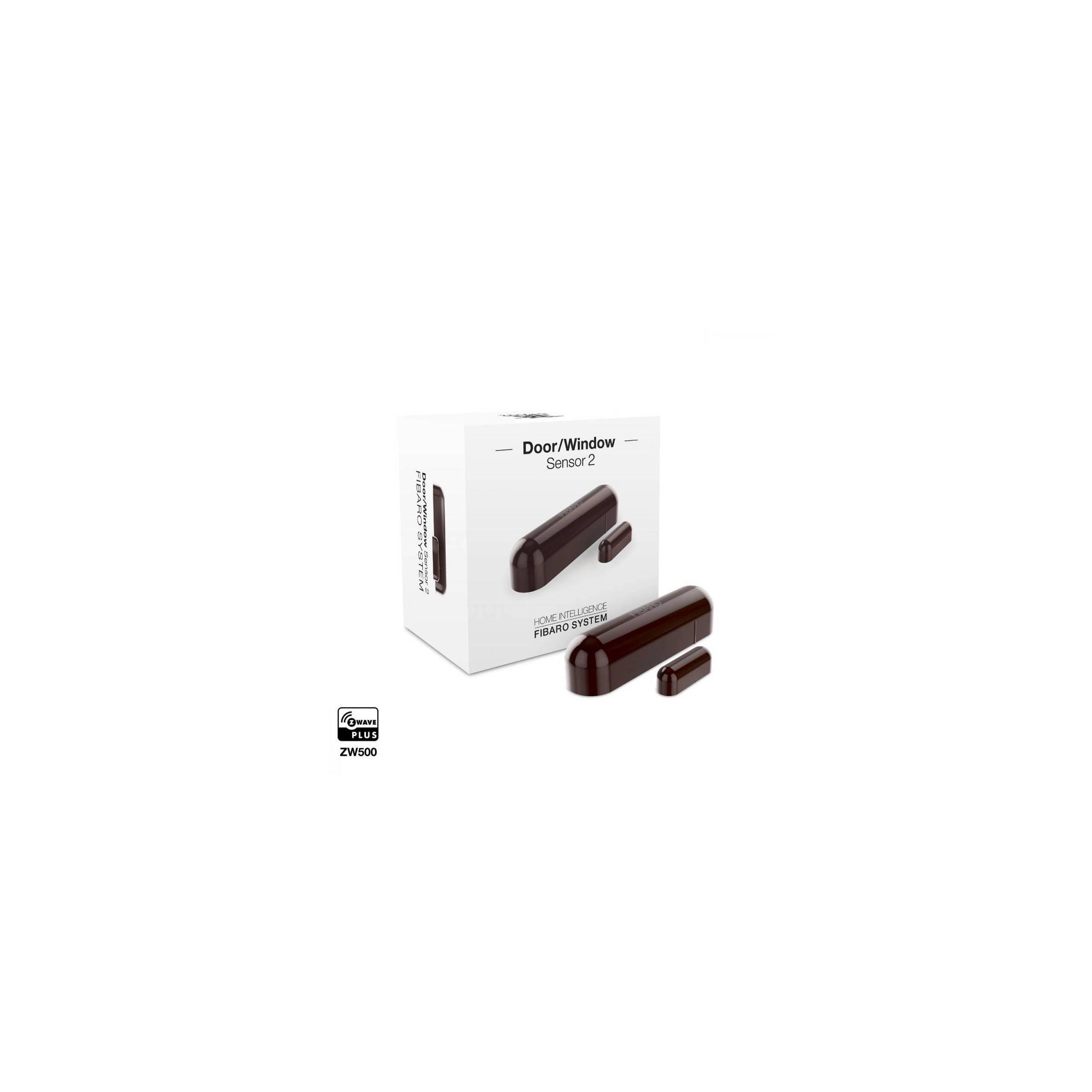 fibaro – Fibaro door window sensor 2 dark brown fra mackabler.dk
