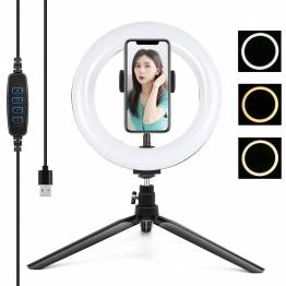 Tripod og ring light til iPhone PULUZ