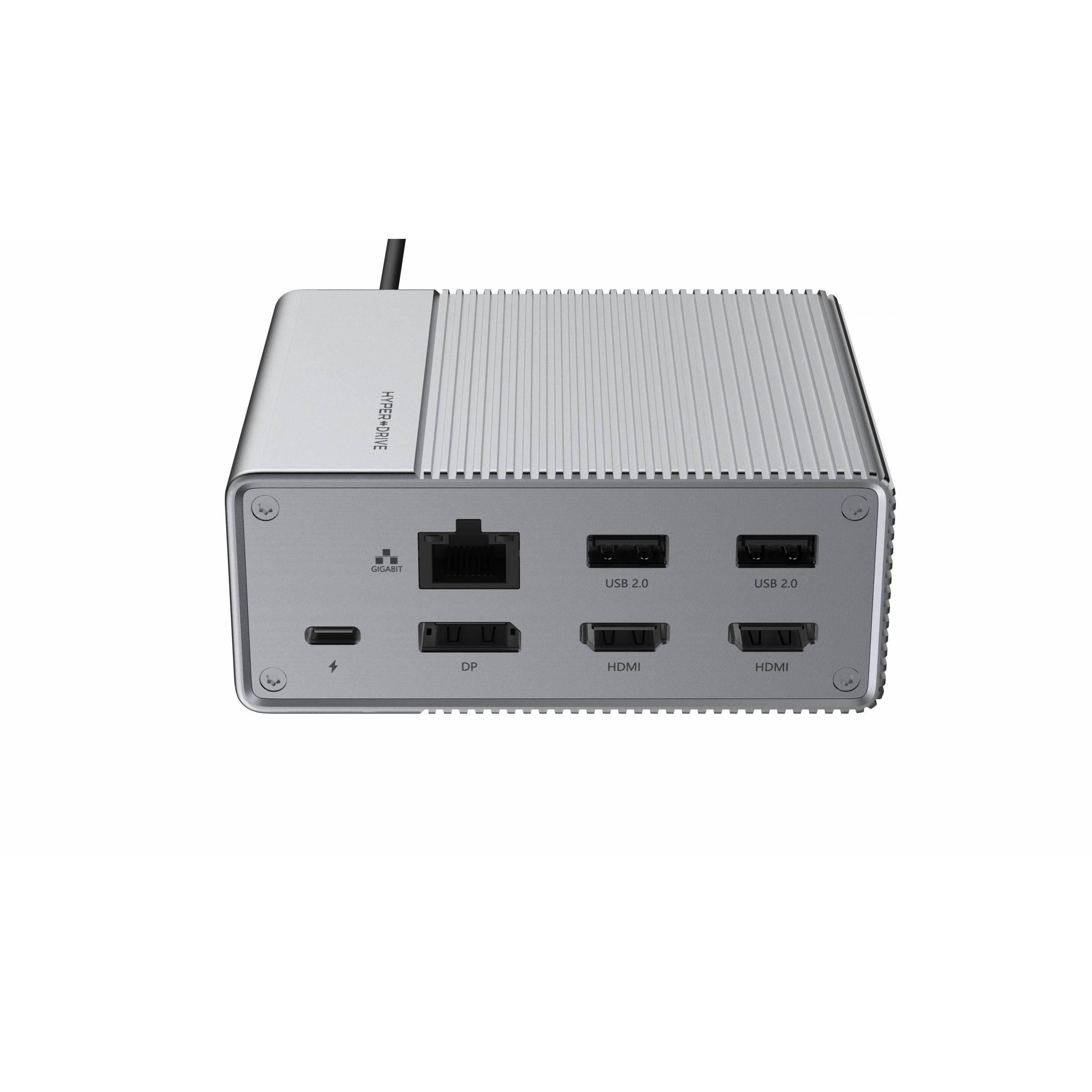 hyper by sanho corporation – Hyperdrive gen2 12-i-1 usb-c hub hdmi, dp, usb, ethernet, sd, lyd på mackabler.dk