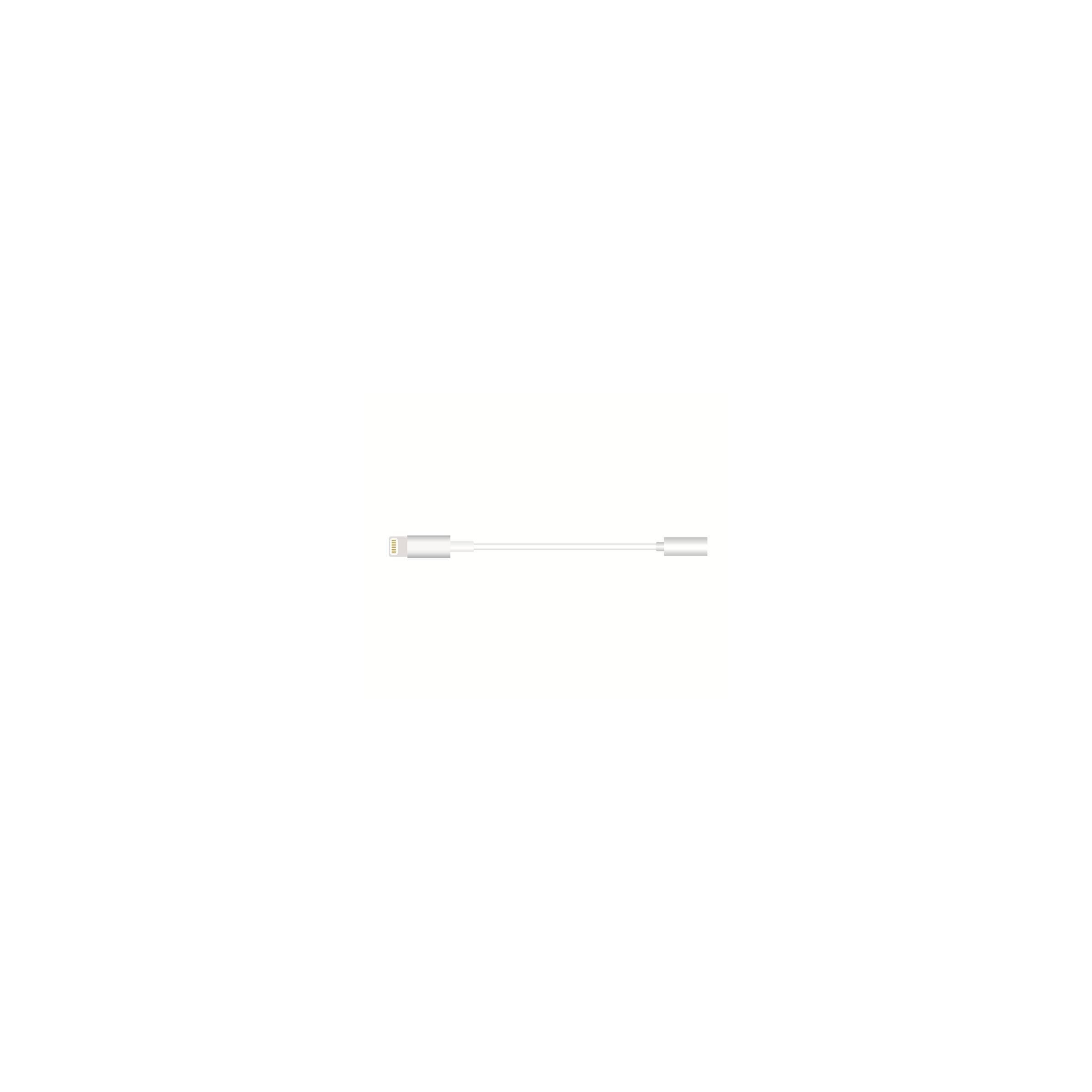 sinox Lightning til 3,5 mm jack-mellemstik til hovedtelefoner sinox fra mackabler.dk