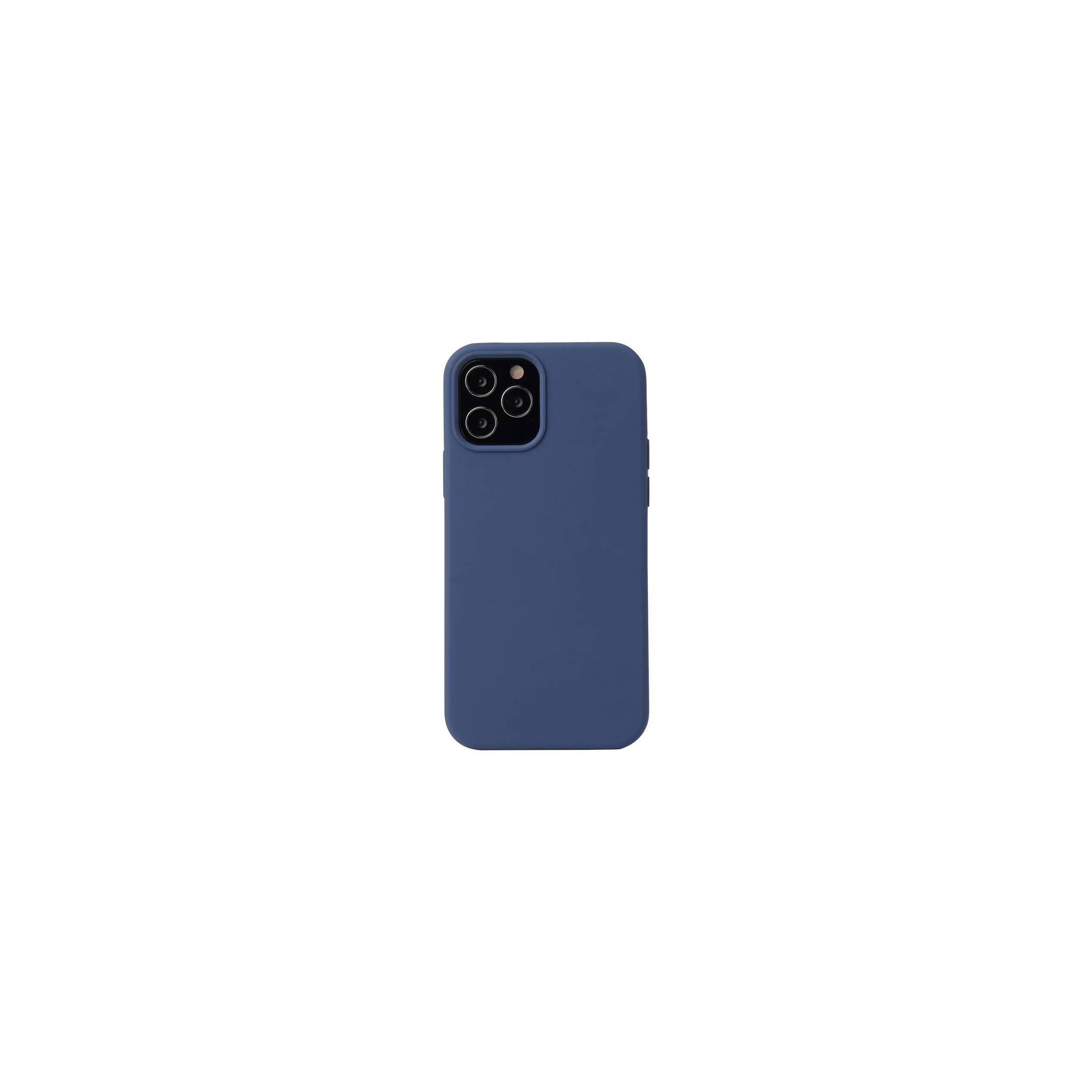 """kina oem – Lækkert iphone 12 mini silikone cover 5,4"""" flere farver farve blå fra mackabler.dk"""