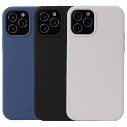 """Lækkert iPhone 12 silikone cover 5,4"""" flere farver"""