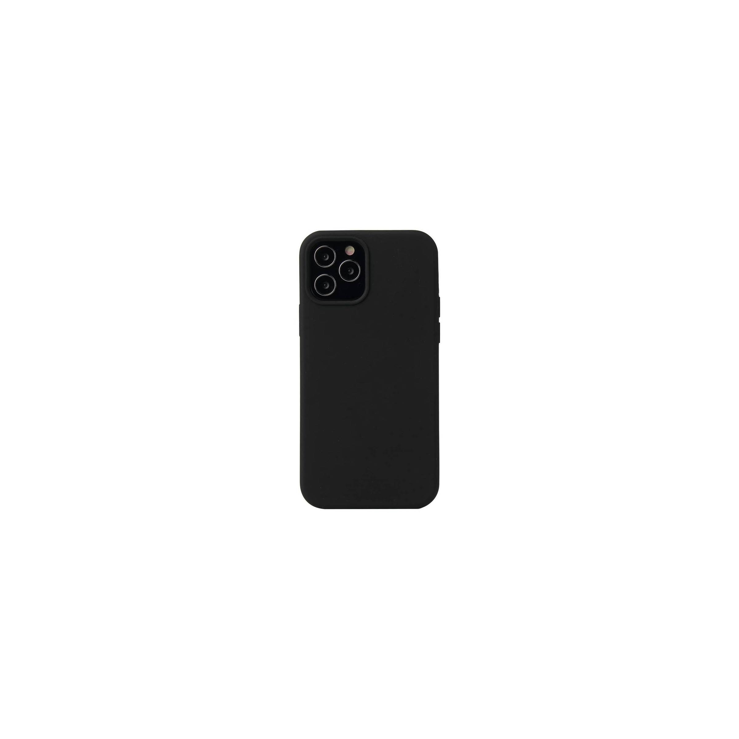 """Lækkert iphone 12 mini silikone cover 5,4"""" flere farver farve sort fra kina oem på mackabler.dk"""