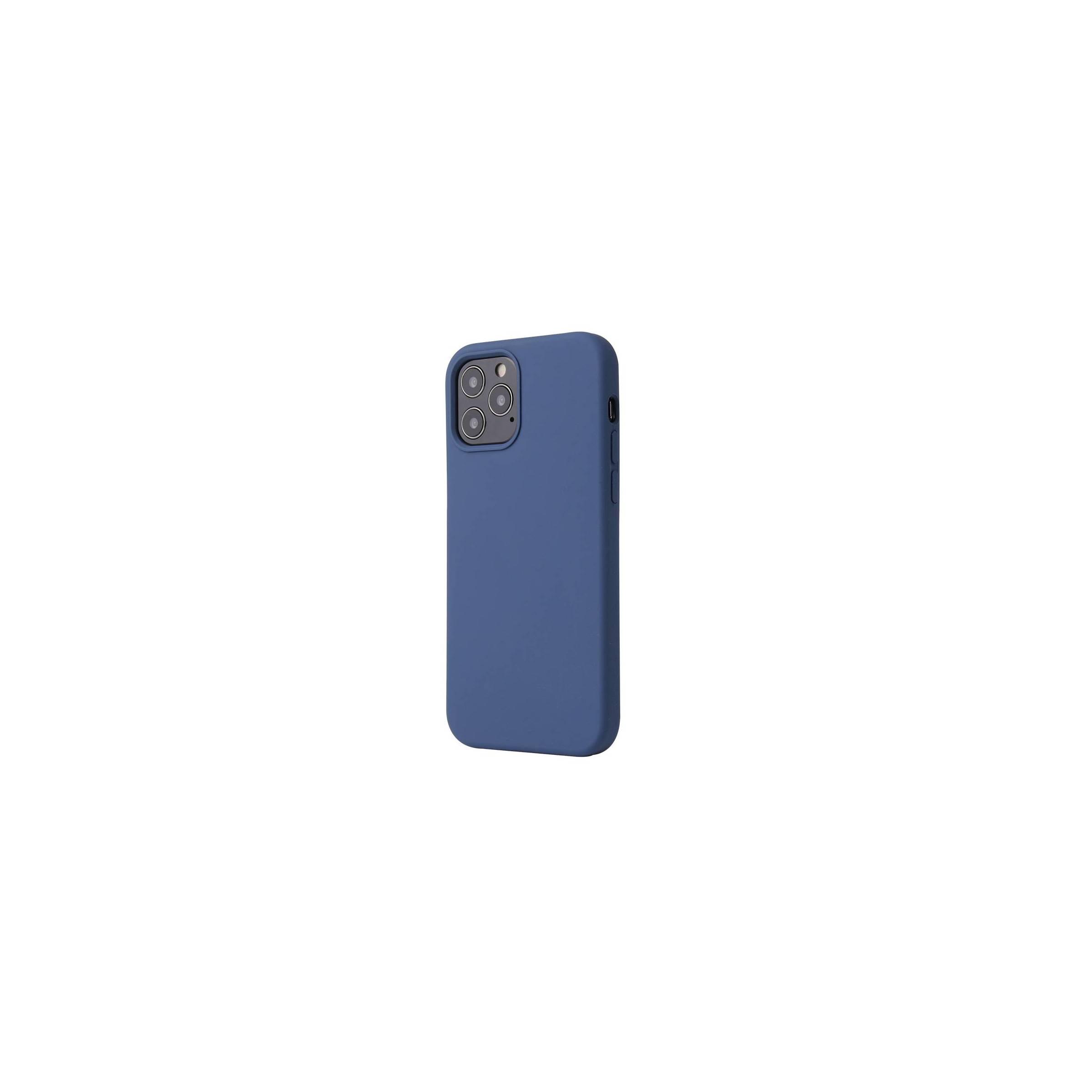 """kina oem – Lækkert iphone 12 pro max silikone cover 6,7"""" flere farver farve blå på mackabler.dk"""