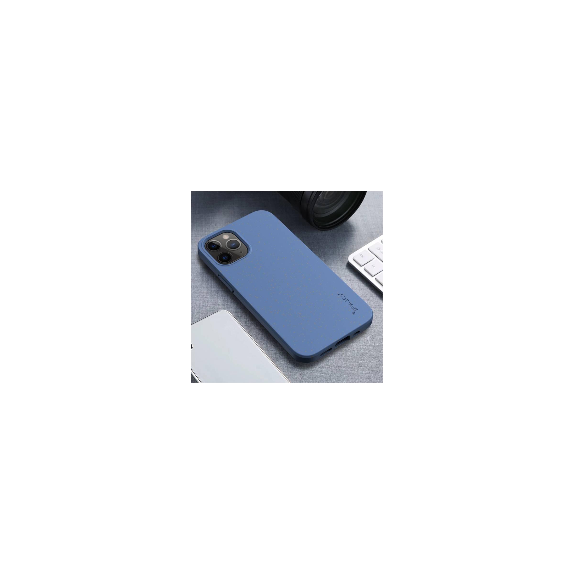 """kina oem – Miljørigtigt iphone 12 mini silikone cover 5,4"""" flere farver farve blå fra mackabler.dk"""