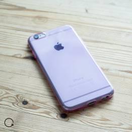 Tyndt silikone cover til iPhone 6/6s lyserød