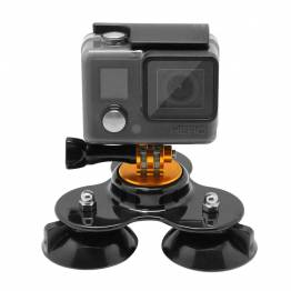 PULUZ triple Suction Cup mount GoPro Hero 9/8/7...