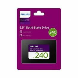 "Intern 2,5"" SSD harddisk Philips 240GB SATA III"