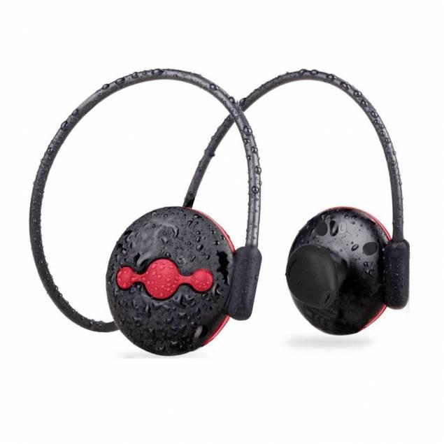 Jogger Bluetooth Sports Headset Avantree - Avantree Jogger er et bluetoothheadset der er lavet til, at komme med dig på dine løbeture. Det vejer meget lidt, kun 23 g, det spiller musik langt tid, op til 9 timer også er det vandtæt. Avantree Jogger headsettet er komfortablet og kommer med 3 forsk