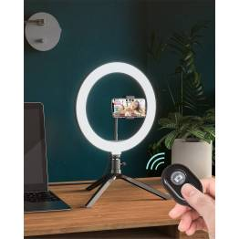 Tripod og ring light til iPhone med fjernbetjening BlitzWolf
