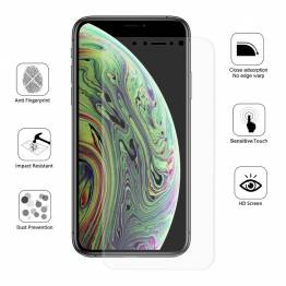 Beskyttelsesglas til iPhone X for og bag