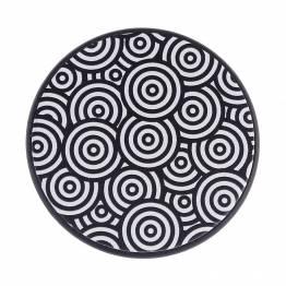 Mount fingergreb sort med mønster