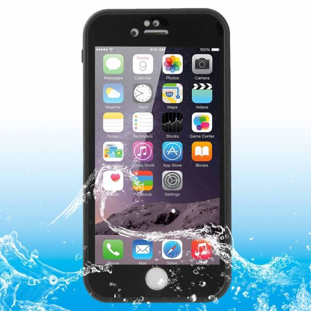 Vandtæt cover til iPhone 6/6s Haweel - Farve - Hvid, iPhone - iPhone 6/6s - Vandtæt cover til iPhone 6/6s og iPhone 6/6splus. Coveret beskytter din iPhone samtidig med at den beskytter imod vand, støv og sand.Du kan bruge din fingeraftrykslæser med coveret på.