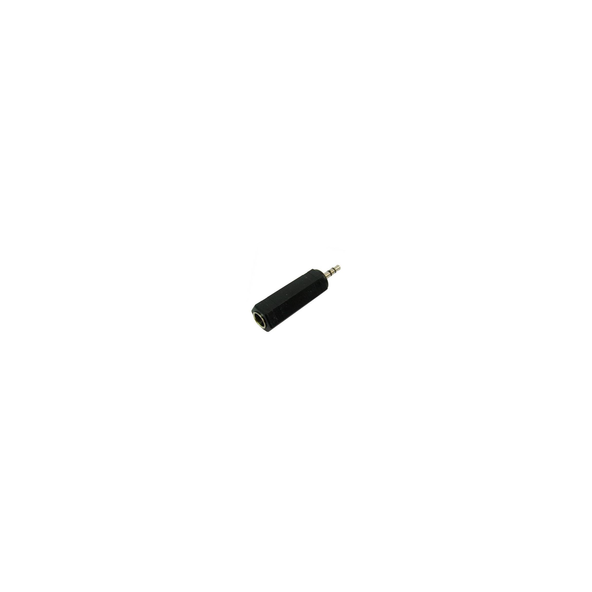 kina oem – 6,35mm stereo jack til 3,5mm mini jack adapter fra mackabler.dk