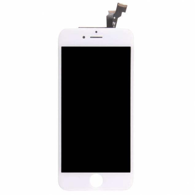 iPhone 6 skærm hvid