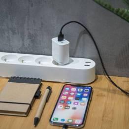 Forever 2-port 20W USB-C PD & Quick Charge 3.0 Vægoplader