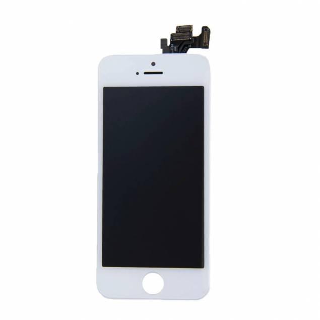 iPhone 5 skærm hvid