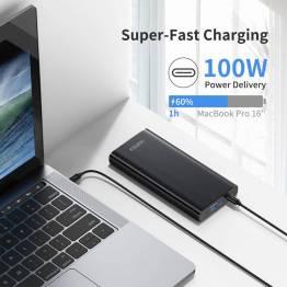 Choetech 26800mAh 100W USB-C PD & QC Powerbank