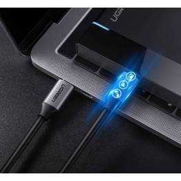 USB-C kabel Zinc alloy 1,5m hvid Max 3A Ugreen