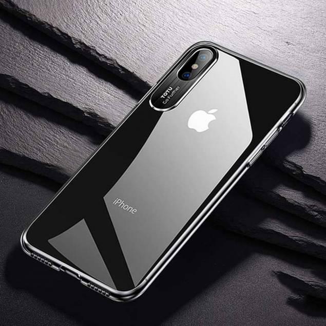 Totu tyndt silikone cover til iPhone X/Xs