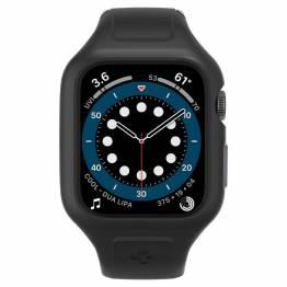 "Spigen Apple Watch Liquid Air ""Pro"" rem 44 mm - sort"