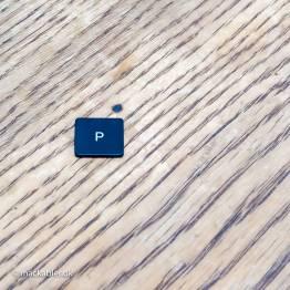 P knap til Macbook