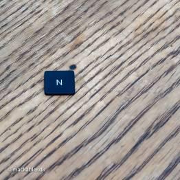 N knap til Macbook