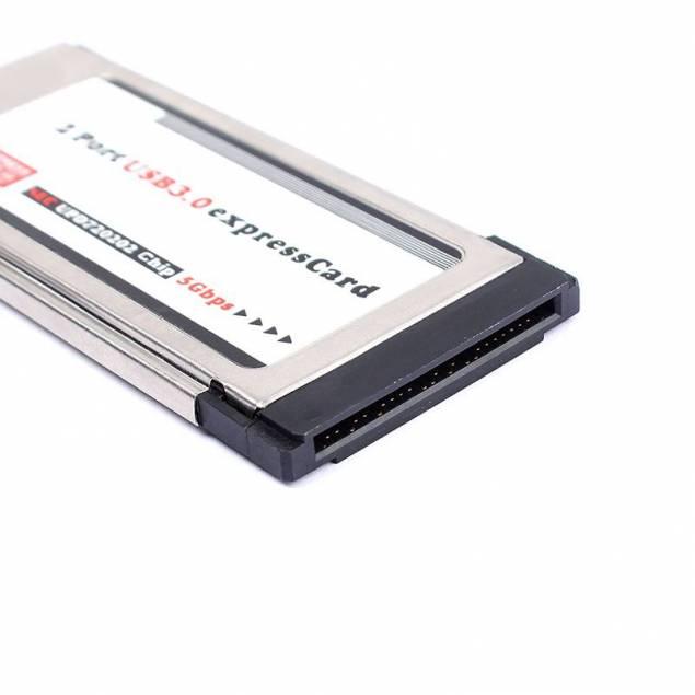 Image of   ExpressCard 34mm med USB stik