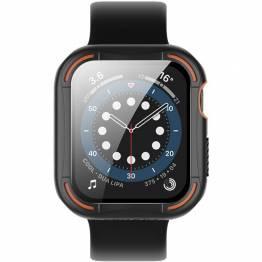 Nillkin Apple Watch cover 4/5/6/SE 40mm - Sort/Orange