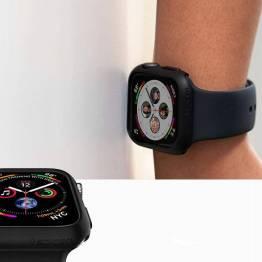 Spigen Apple Watch Thin Fit cover 4/5/6/SE 44mm - Sort
