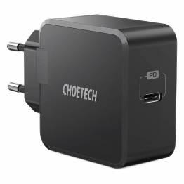 Choetech 30W USB-C PD Vægoplader, Sort